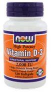 Витамин D3- здоровые кости 2000ме 120 кап