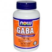 Гамма-аминомасляная кислота (Gamma-aminobutyric acid)(фарманалог -Гаммалон. АМИНОЛОН)  750мг 100 кап
